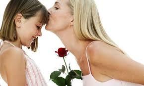 mama con hija rosa